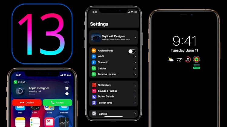 ios13 dark mode