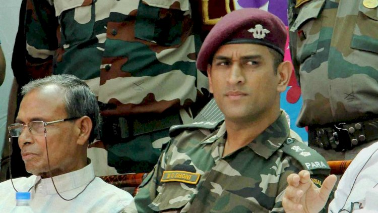 MS Dhoni - Kashmir valley as part of Victor Force