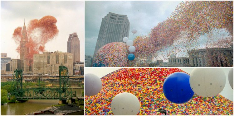 Cleveland Balloonfest 1986, A Spectacular Stunt For Fundraising And Publicity Turned into Cleveland's Disaster Story