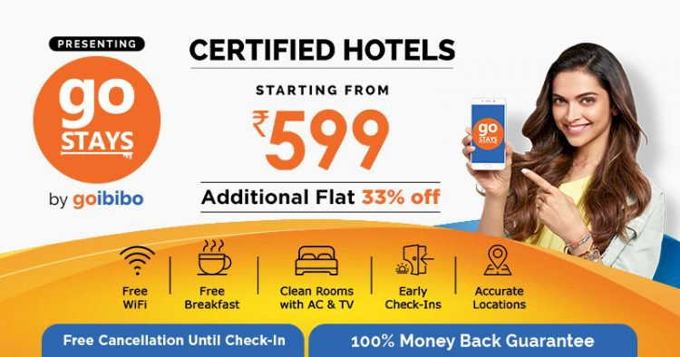 Goibibo offers on hotels