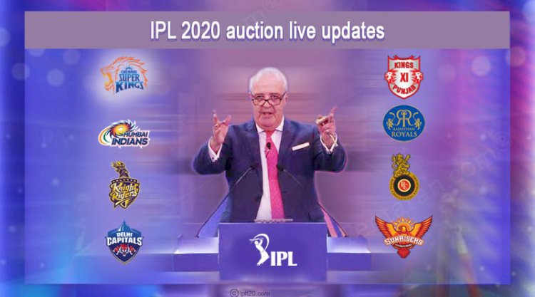 VIVO IPL 2020 Auction: Complete list of players sold, unsold with price list. IPL Election Se Selection VIVO IPL Vote
