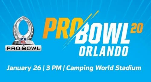 NFL Pro Bowl 2020 Live stream, Location, game time, rosters and more