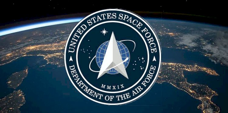 U S space force logo