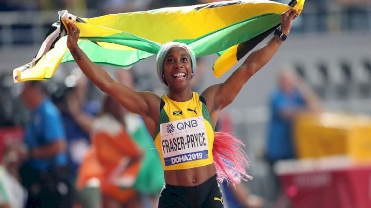 Jamaican sprint queen Shelly-Ann Fraser-Pryce